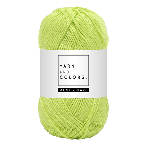 Yarn and colors Yarn and Colors Must-have Pistachio