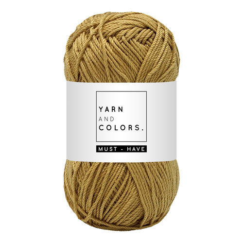 Yarn and colors Yarn and Colors Must-have Gold