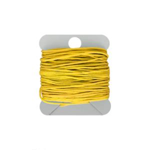Hearts Macramé Koord 0.8MM Yellow