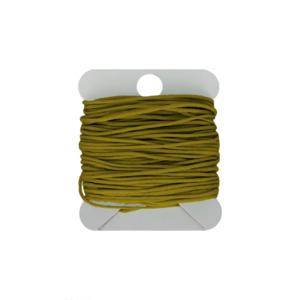 Hearts Macramé Koord 0.8MM Green Mustard