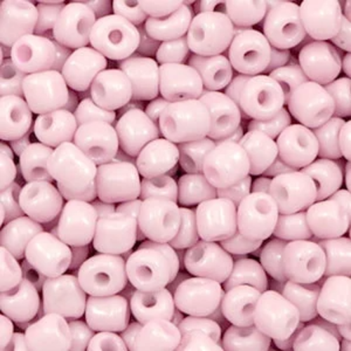 Hearts Hearts  Rocailles 4MM Pink Mist