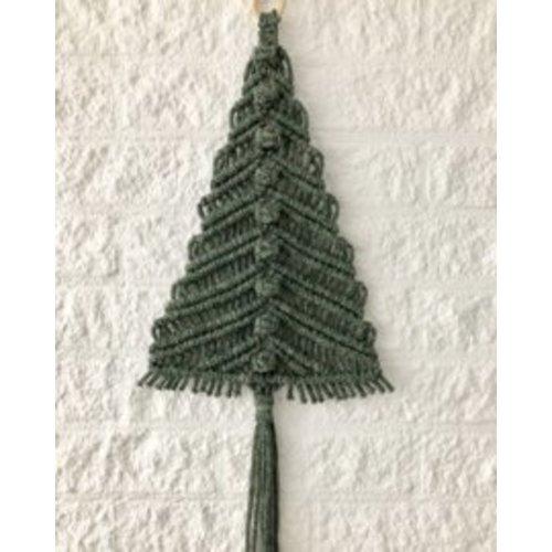 Hearts Kerstbomenpakket macramé hangers groot en klein