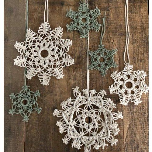Hearts Mandala hangers (Sneeuwvlokken)