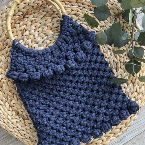 Hearts Patroon tas(gratis bij garen en tassenbeugel)