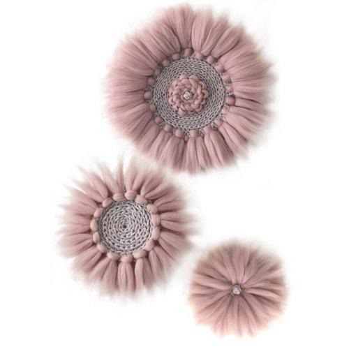Hearts Pakket flowermandala's (serie van 3)