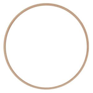 Hearts Blanke Houten Ringen 15 - 40 cm