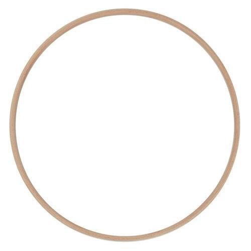 Hearts Blanke Houten Ringen 15 - 30 cm