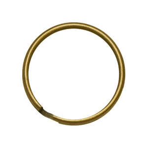 Hearts Bronzen Sleutelringen 25 mm