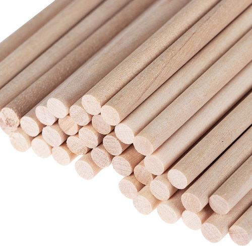 Hearts Hearts Blanke houten stokjes 20cm