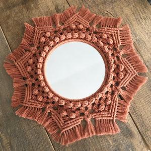 Hearts Mandala spiegel (20 cm spiegel)