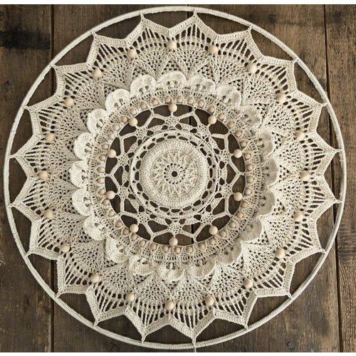 Hearts Mandala Pakket Kleur White
