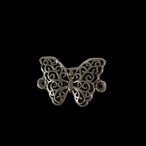 Tussenstuk vlinder zilver