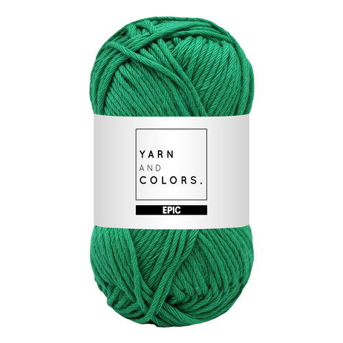 Yarn and colors Yarn and Colors Epic Green Beryl
