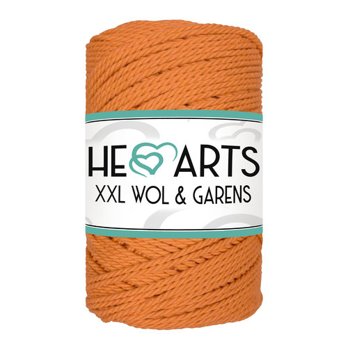 Hearts Triple Twist 3MM Oranje (100M)