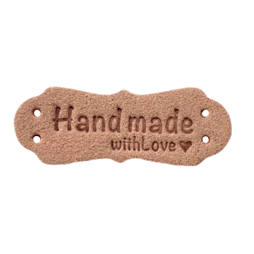 Handmade With Love Roze