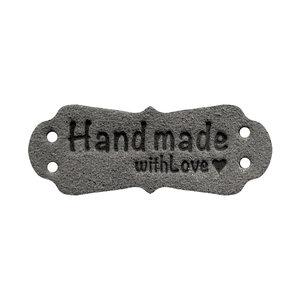 Handmade With Love Grijs