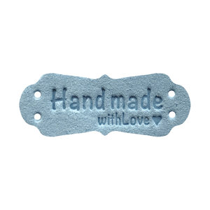 Handmade With Love Blauw