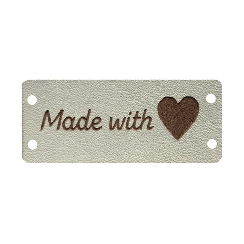 Label Made With Love Créme/Beige