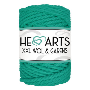 Hearts Triple Twist 5MM Aqua Green 40M
