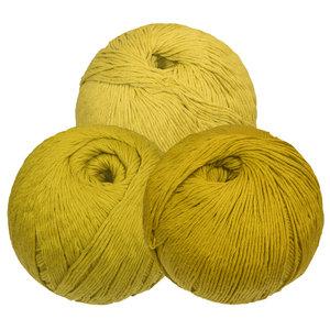 Haakbolletjes 3 Pack Green Mustard