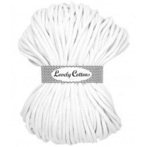 Lovely Cottons 9MM Gevlochten White