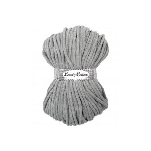 Lovely Cottons 9MM Gevlochten Grijs met zilver