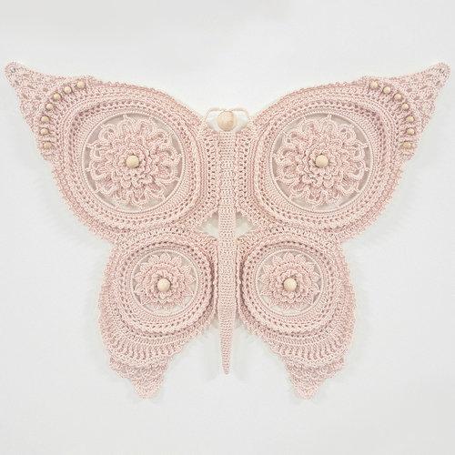 Hearts Vlinder Pakket Kleur Antique Pink