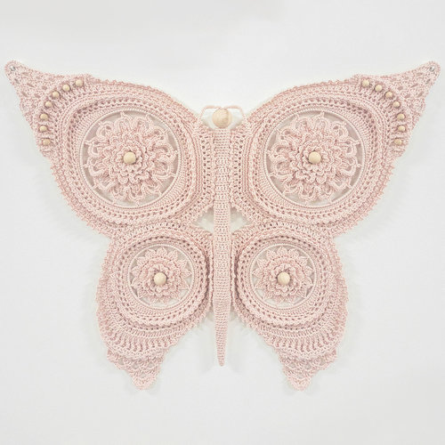 Hearts Vlinder Pakket Kleur Pale Pink