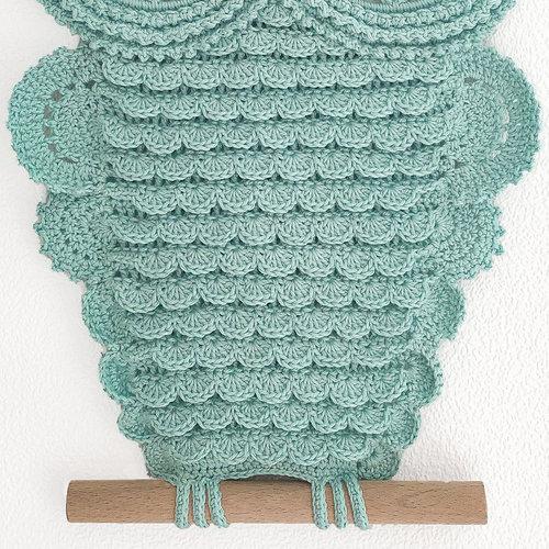 Hearts Mandala Uil Haakpakket Blue Snake
