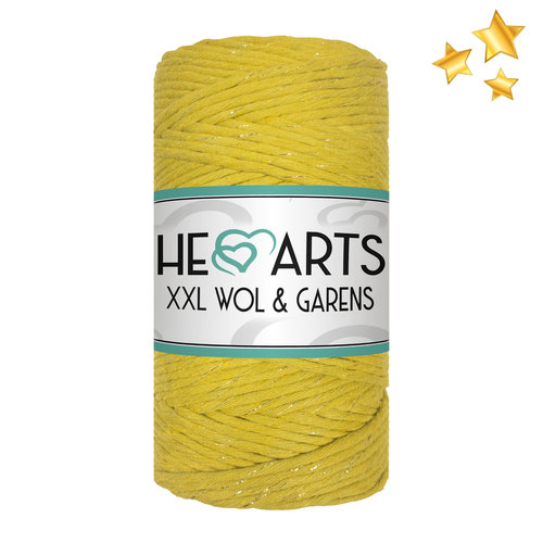 Hearts Hearts Single Twist 3MM Golden Chartreuse