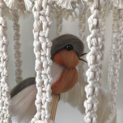 Birdy Macramépakket, compleet met alle accessoires