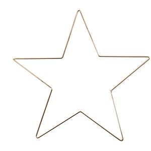 Hearts Gouden ster 5 - 20 cm
