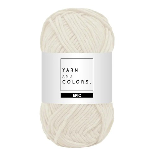 Yarn and colors Epic Cream