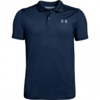 Under Armour Performance Polo 2.0-Academy / Mod Gray Light Heather / Pitch Gray Fade Heather