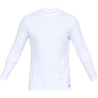 Under Armour UA CG ARMOR MOCK FITTED WHITE