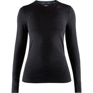 Craft Fuseknit Comfort Rn L/S W Thermoshirt Zwart
