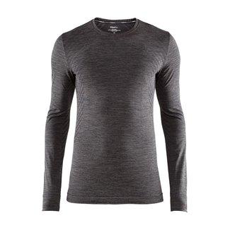 Craft Fuseknit Comfort RN LS M Thermoshirt Black / gray