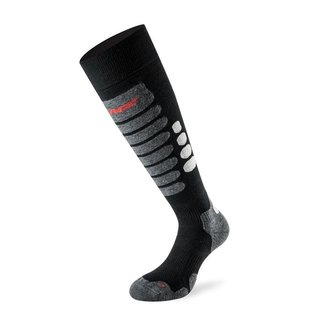 Lenz Sock Skiing 3.0 Black / Grey
