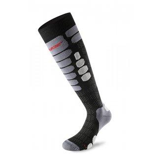 Lenz Sock Skiing 5.0 Black / Grey