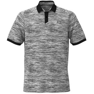 Under Armour UA Iso-Chill ABE Twist Polo-White / Black / Black