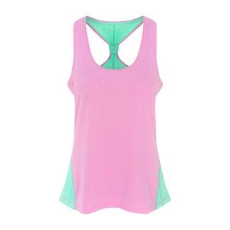 OOSC Pastel Pink Women's Gym Vest