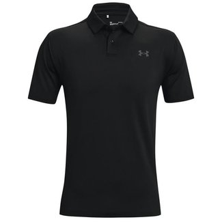 Under Armour UA T2G Polo-Black /  / Pitch Gray