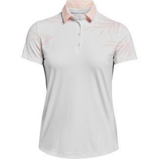 Under Armour UA Iso-Chill SS Polo-Wit korte mouwen