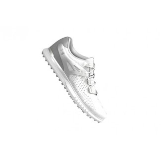 Under Armour UA Charged Breathe Spikeless Golf Shoes / Metallic Silver