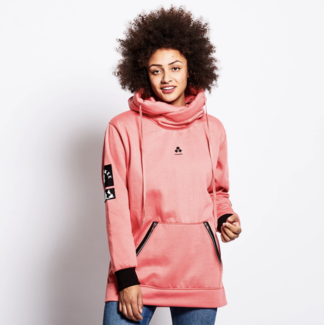 Oneskee Waterproof ladies hoodie Pink