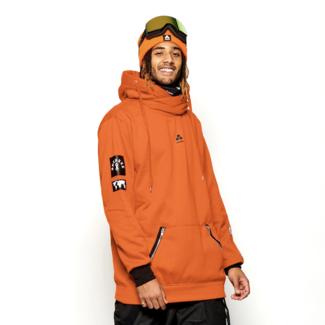 Oneskee Waterproof men's hoodie Orange