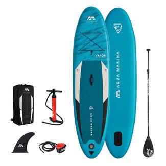 Aqua Marina Vapor inflatable SUP board 10'4 Blue 2021