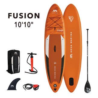Aqua Marina Fusion inflatable SUP board 10'10 Orange 2021