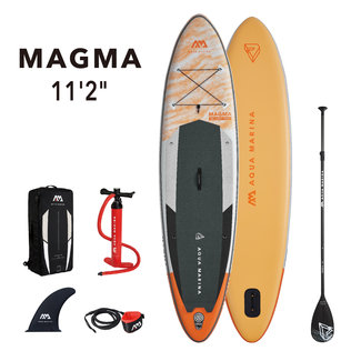 Aqua Marina Magma opblaasbaar SUP board 11'2 Oranje