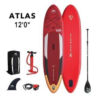 Aqua Marina Atlas opblaasbaar SUP board 12'0 Rood
